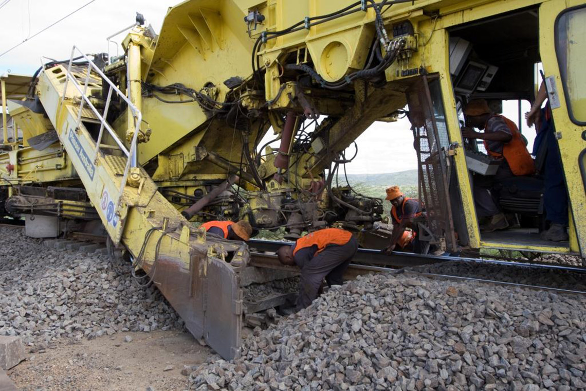 Plasser South Africa Range Of Services Operating And